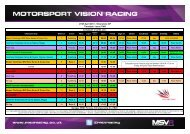 27/28 April 2013 - Silverstone GP Timetable - Issue TWO