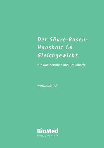 Säure-Basen - Die-Drogerie.ch