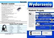 W tym numerze porozmawiamy z Patrykiem ... - zspnasiedle.yoyo.pl
