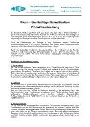 SFE-860 - WICON Industrietore GmbH