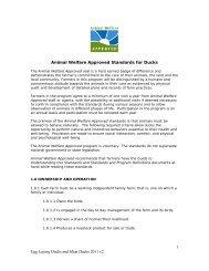 1 Egg Laying Ducks and Meat Ducks 2011 v2 Animal Welfare ...