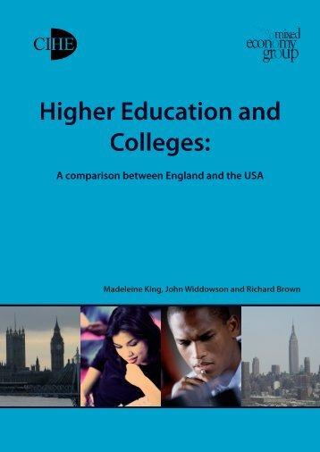 Higher Education and Colleges: - American Association of ...
