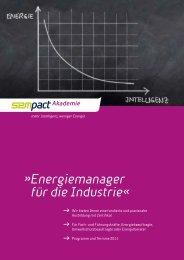 Energiemanager für die Industrie« - Sempact AG