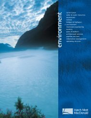 environment brochure.pdf - Hatch Mott MacDonald