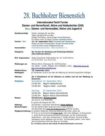 Buchholzer Bienenstich - Blau-Weiss Buchholz ev