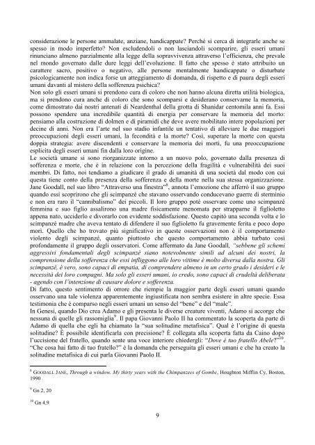 anno I - Casa di spiritualità Mater Unitatis - Cottolengo