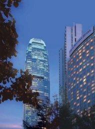 Hong Kong's status of an international centre - Sun Hung Kai ...