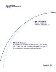 méthode MA.403-THM 1.0 - Centre d'expertise en analyse ...