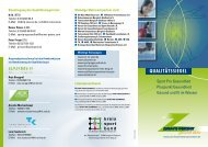 'Qualitätssiegel Sport Pro Gesundheit' als PDF (1 - Zukunftswerkstatt ...