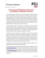 Press release - Avnet Electronics Marketing