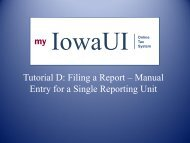 Tutorial D Filing a Report Manual Entry Single Reporting Unit