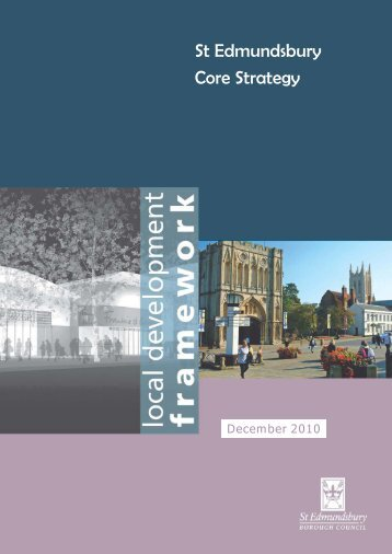 St Edmundsbury Core Strategy (December 2010)