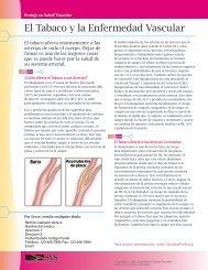 El Tabaco y la Enfermedad Vascular - VascularWeb