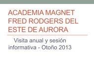 East Aurora Fred Rodgers Magnet Academy - East Aurora School ...