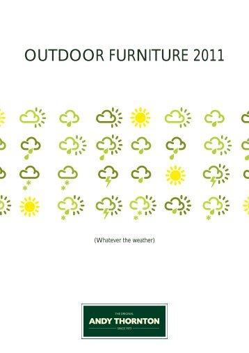 Andy Thornton Ltd / Outdoor furniture 2011 - Hotel Designs