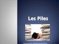 Les Piles - UQAC