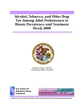 Alcohol, Tobacco, and Other Drug Use Among Adult Probationers in ...