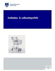 Indkøbs- & udbudspolitik - Fredensborg Kommune