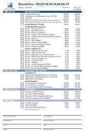 Bestell-Fax +49 (0) 76 22/6 66 86-77
