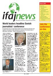 ifaj news March 05-v - International Federation of Agricultural ...
