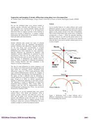 Separation and imaging of seismic diffractions using ... - OnePetro