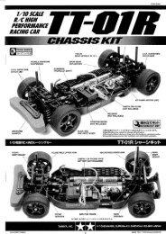 Tamiya TT-01R Manual - Wheelsacademy.info