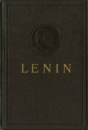 Collected Works of V. I. Lenin - Vol. 15 - From Marx to Mao