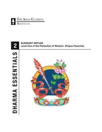 Dharma Essentials Course II: Buddhist Refuge Outline - ACI-LA
