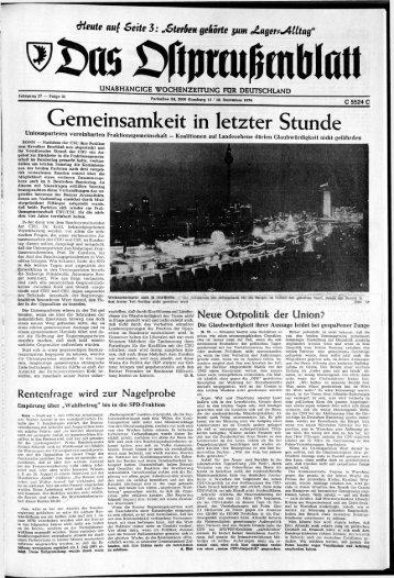 Folge 51 vom 18.12.1976 - Archiv Preussische Allgemeine Zeitung