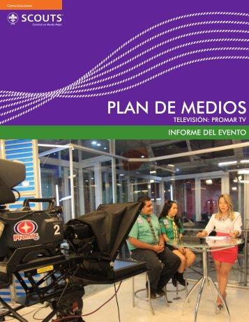 plan de medios plan de medios - Asociación de Scouts de Venezuela