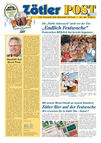 """""""Endlich Festwoche"""" - Zötler"""