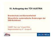 Wesentliche Änderungen Barrierefreiheit (Aufzüge) - TÜV Austria ...