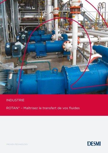 INDUSTRIE ROTAN® – Maîtrisez le transfert de vos fluides - Desmi