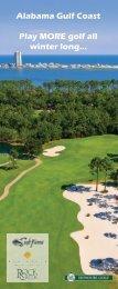 Alabama Gulf Coast Play more golf all winter long... - Cybergolf