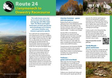 Route 24 - Shropshire Walking