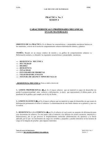 PRACTICA No. 3 SESION 4 CARACTERISTICAS Y PROPIEDADES ...