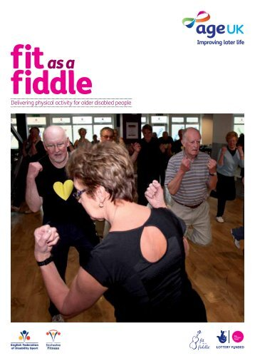 Delivering physical activity for older disabled people - English ...