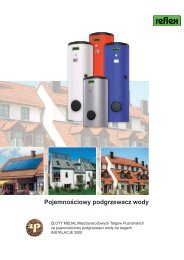 Pojemnościowy podgrzewacz wody - Reflex