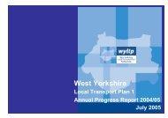 Annual Progress Report 2004 - 2005 - Metro