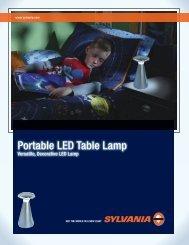 Portable LED Table Lamp - Osram Sylvania