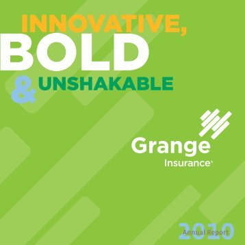 Annual Report 2010 Text.indd - Grange Insurance