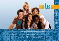 60 Jahre IB - Internationaler Bund