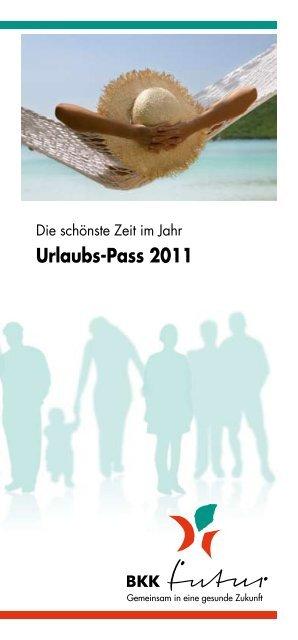 Urlaubs-Pass 2011