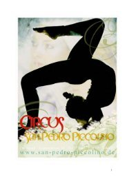 Der Kinder - Zirkus San Pedro Piccolino