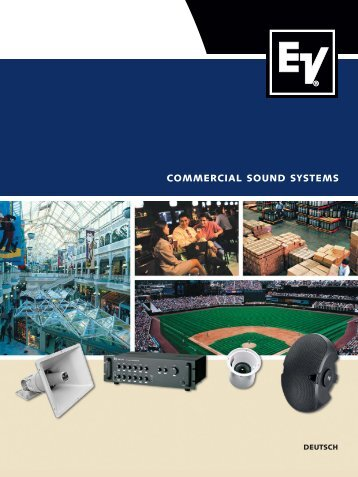 commercial sound systems - Udo Erpenstein GmbH