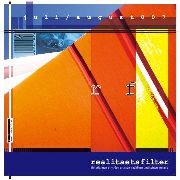 Ausgabe Juli / August 2007 - realitaetsfilter