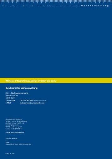 Berufsausbildung bei der Bundeswehr - Ziviler Arbeitgeber ...