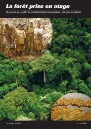La forêt prise en otage - Forests Monitor