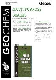 MULTI PURPOSE SEALER - Geocel