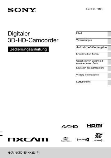 Bedienungsanleitung - Video Data